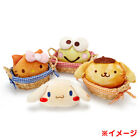 """Sanrio Face shaped pouch """"Bakery Design Series""""  4 kinds New F/S from JP"""