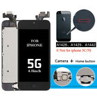 For iPhone 5 5G Touch Screen Replacement LCD Digitizer Complete Button Camera
