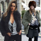 Women's Real Farm RAC C00N Fur Knitted Coat Outwear Holiday Come Jacket Winter