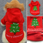 New Pet Warm Dog Cat Jacket Coat Puppy Clothes Winter Pullover Christmas Apparel
