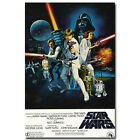 Star Wars Episode IV A New Hope Classic Movie Art Silk Poster 12x18 24x36 inch $5.76 CAD