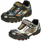 Boys Skechers Hot Lights Trainers 'Race Car 90353'