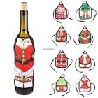 Cute Christmas Wine Bottle Apron Cover Wrap Xmas Dinner Party Table NC89
