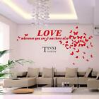 New Modern Bedroom Living Room Wall Decoration Background Hearts Shape TXSU