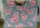 BNWT-Vintage Rose and Polka Dot Design Fabric-Craft/Knitting Bag by Hobby Gift