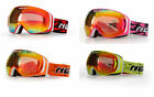 NENKI Snowboard Snowmobile OTG Ski Goggles,Double Anti Fog Lens,UV protection