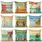 Sandbeach Style Cotton Linen Pillow cover Home Decor Woven Pillows Case Cushion