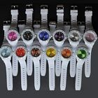 Silicone Wrist Watch Rubber White 12 Colors Dial Face Sport Silicone Watch M2