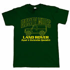 Rusty Nuts, Mens Funny Off Road T Shirt, Gift for Dad Him Christmas