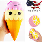 Exquisite Fun Ice Cream Scented Squishy Charm Slow Rising Simulation Kid Toy US