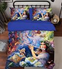 3D Music Girl 19 Bed Pillowcases Quilt Duvet Cover Set Single Queen King Size AU