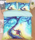 3D Magic Tree 22 Bed Pillowcases Quilt Duvet Cover Set Single Queen King Size AU
