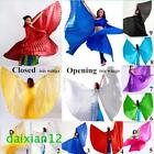 Open or Close India Egypt Belly Dance Costumes Isis Wings (Supply Sticks)