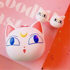 U.S.- Kawaii Sailor Moon Luna Cat Contact Lense Storage Case With Compact Mirror