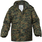 Woodland Digital Camouflage MARPAT M-65 Field Coat Army M65 Jacket w/ Liner