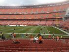2 CLEVELAND BROWNS PSL SEASON TICKET RIGHTS - LOWER 15 YDL 137-17 CHEAP!