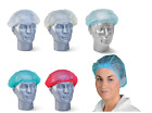 Внешний вид - Mob Cap Hair Net Hair Covers Food Hygiene Catering - Various Colours