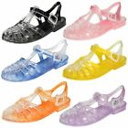 Spot On Ladies Closed Toe Jelly Shoes