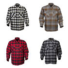 Scorpion Mens Covert Moto  Motorcycle Flannel Shirt -Choose - Size & Color