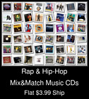 Rap & Hip-Hop(9) - Mix&Match Music CDs - $3.99 flat ship