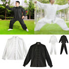 Unisex Men Tai Chi Clothes Martial Arts Uniform Kung Fu Suit Jacket Costume BT