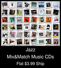 Jazz(12) - Mix&Replica Music CDs - $3.99 flat ship