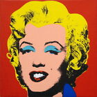 Andy Warhol Marilyn Monroe Giclee Canvas Art Silk Poster 12x12 24x24