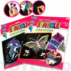 New Sparkle Creation Set Pin Art Children's Crafty Toy Gift Set High Quality