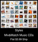 Styles(53) - Mix&Match Music CDs - $3.99 flat ship
