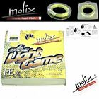 MOLIX HI QUALITY BRAID LINE ULTRA LIGHT GAME 100m/110yds
