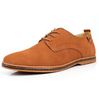 2017 suede European leather shoes men's Oxford shoes casual variety  fashion
