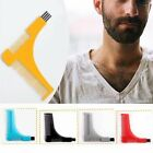 Beard Styling Comb Shaping Template Tool Facial Hair Comb Men Beauty Accessories