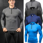 Men's Compression Running Tights Atheltic Fitness Training Gym Tops Pants Long