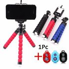 Flexible Smartphone Tripod + Bluetooth Remote for iPhone X Samsumg Huawei NEW
