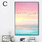 Modern Nordic Abstract Sea Poster Art Canvas Home Decor Paintings Unframe
