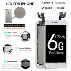 LCD Digitizer Touch Screen Full+Button+Camera Parts For iPhone 6 4.7'' Complete