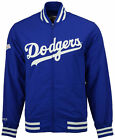 Mitchell and Ness Men's Los Angeles Dodgers Team History Warm Up Jacket In Blue on Ebay