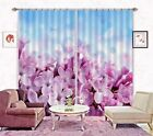3D Flowers 3415 Blockout Photo Curtain Printing Curtains Drapes Fabric Window AU