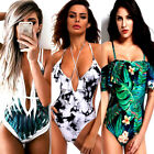 Women sexy Floral Bikini Push-Up Padded Swimwear Swimsuit Bathing Beachwear