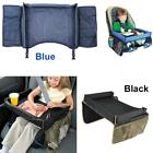 Vintage Safe Table Kids Snack Play Travel Tray for Car Backseat Waterproof G4P7