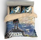3D The Legend of Zelda Print Bedding Set Duvet Cover Sets Quilt Cover Pillowcase