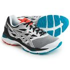 Asics Men's Running Shoes Gel Cumulus 18 White Silver Black