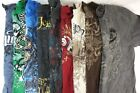 Lot of 10 Random Brand Men's Graphic Tees T-Shirts HOTTEST SO COOL BEST DEAL!!!