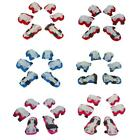 6Pcs Kids Elbow Wrist Knee Pad Protective Gear Roller Skating Scooter Bike