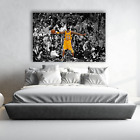 Poster Mural Kobe Bryant Lakers Basketball | Choose Your Size | Canvas <br/> Same-Day Priority Shipping • Purchase from Fast Sellers