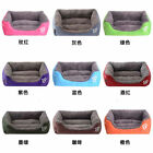 Pet Soft Bed Cushion Large Mat Pad Dog Cat Cage Kennel Crate Warm Cozy House New