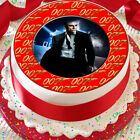 JAMES BOND 007 RED 7.5 INCH PRECUT EDIBLE CAKE TOPPER DECORATION $3.6 USD on eBay
