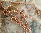 Spectacular 3mm Ball Copper Chain Necklace Pure 100% Solid Copper Custom Length