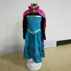 Girls Disney Elsa Frozen Dress Costume Princess Anna Party Cosplay Age 3-8Years