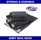 All Size Grey Mailing Bags Postal Postage Post Mail 9x12 10x14 12x16 17x24 57mu